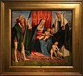 Galeazzo campi, madonna col bambino tra i ss. giovannino, cristoforo e caterina da siena, da s. domenico, 1500-30 ca.jpg