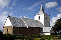 Gammelsogn, Denmark, Gammel Sogn kirke, Church 8428.jpg