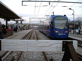 Aulnay-sous-Bois station - Image: Gare d Aulnay sous Bois 05