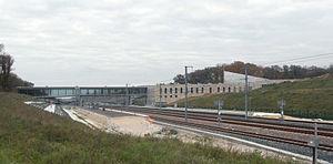 Gare de Besançon Franche-Comté TGV - Gare de Besançon TGV is being built in 2011