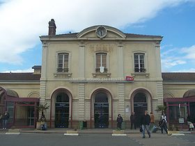 Image illustrative de l'article Gare de Bourg-en-Bresse