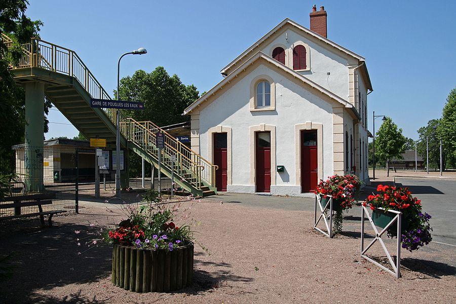 Pougues-les-Eaux station