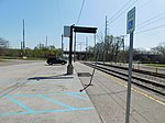 Gary Chicago Airport at Clark Road station (26552370242).jpg