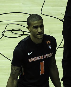 2014–15 Pac-12 Conference men's basketball season - Defensive Player of the Year Gary Payton II of Oregon
