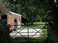 Gate and barn - geograph.org.uk - 1410545.jpg
