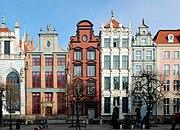Gdańsk kamienice przy Długim Targu