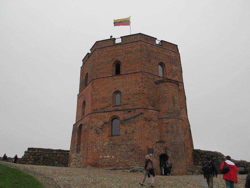 Gediminas Tower in Vilnius