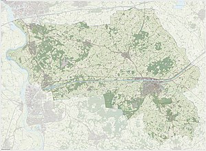 Lochem - Dutch Topographic map of the municipality of Lochem, June 2015