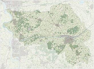Lochem - Dutch Topographic map of the municipality of Lochem, June 2015