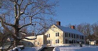 General Artemas Ward House - The Gen. Artemas Ward Homestead in winter