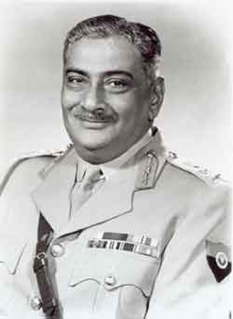 Chief of the Army Staff (India) - Image: Gen Maharaj Shri Rajendrasinhji Jadeja