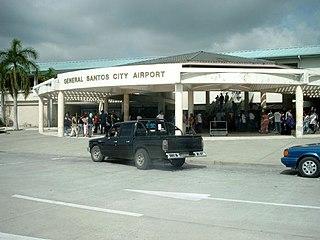 General Santos International Airport Airport in Soccsksargen, Philippines