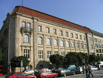Berlin-Brandenburg Academy of Sciences and Humanities - The modern BBAW headquarters at Jägerstrasse 22/23 (2006)