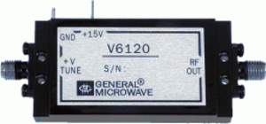 Voltage-controlled oscillator - A microwave (12-18 GHz) Voltage Controlled Oscillator