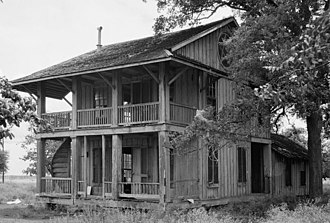 Anahuac, Texas - House of General Thomas Jefferson Chambers