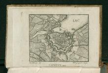 Genève. Tavola tratta da Lettres sur la Suisse, 1829. Da BEIC, biblioteca digitale