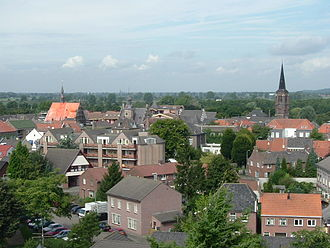 Gennep - View over Gennep