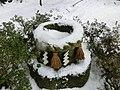 Gensen-kyu, source of hot spring, Yuwaku onsen.jpg