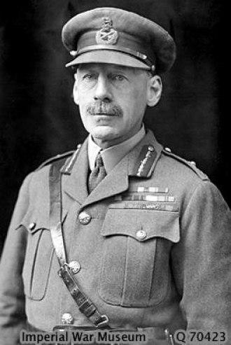 G. F. Gorringe - Lieutenant General Sir George Gorringe