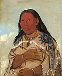 George Catlin - Wife of Two Crows - 1985.66.174 - Smithsonian American Art Museum.jpg