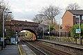 George Stephensons bridge, Rainhill railway station (geograph 3818945).jpg