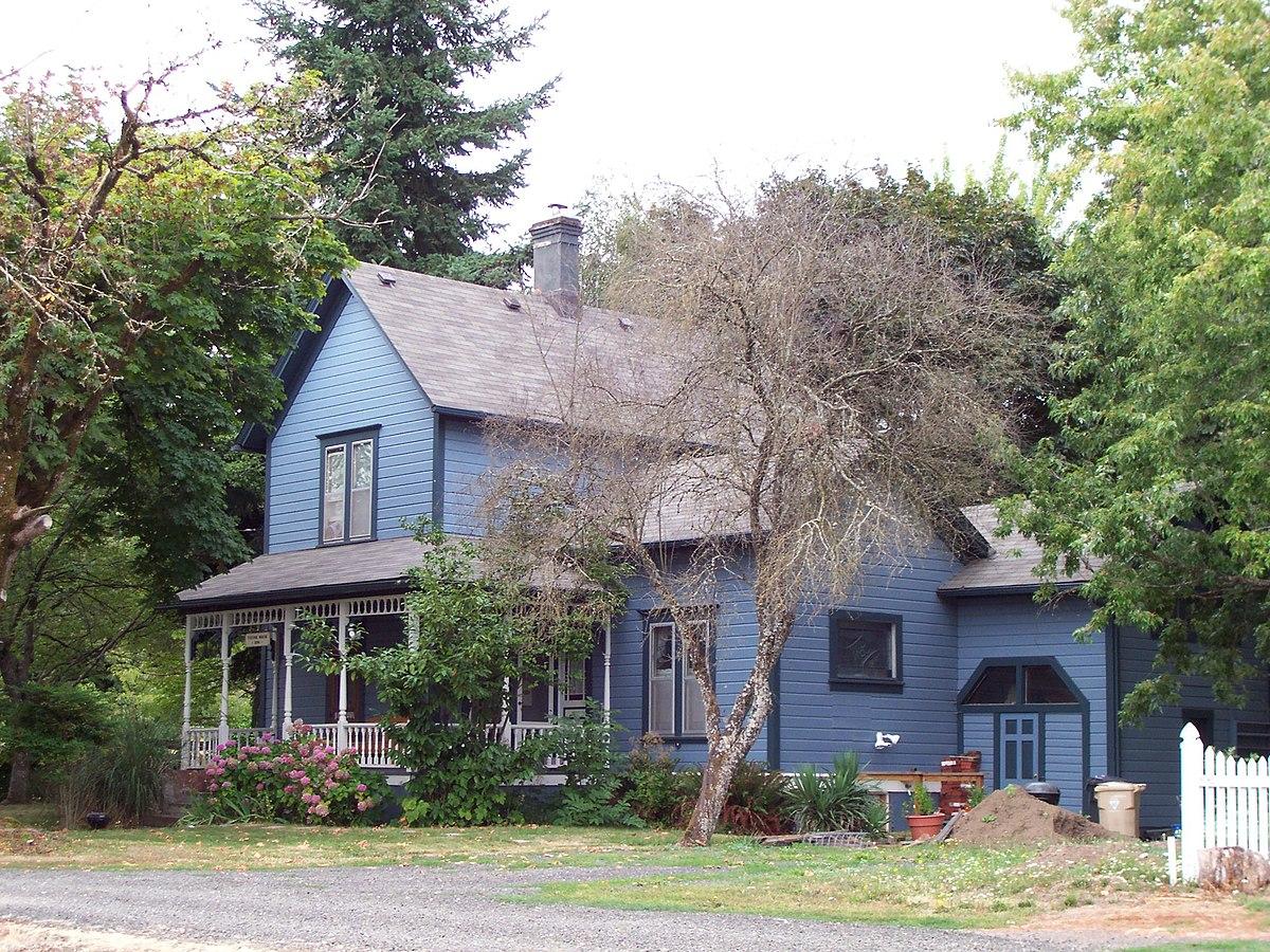 George Taylor House Corvallis Oregon