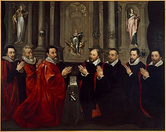 Georges Lallemand - The Mayor and Aldermen of Paris, 1611 (Musée Carnevalet).