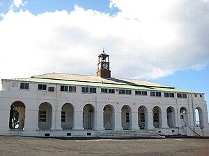 Georgetown, Ascension Island - Image: Georgetown Old Barracks