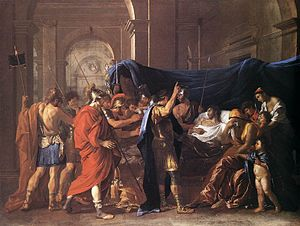 1628 in art - Poussin – The Death of Germanicus