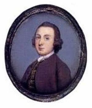 Gervase Spencer - Self-portrait (1749)