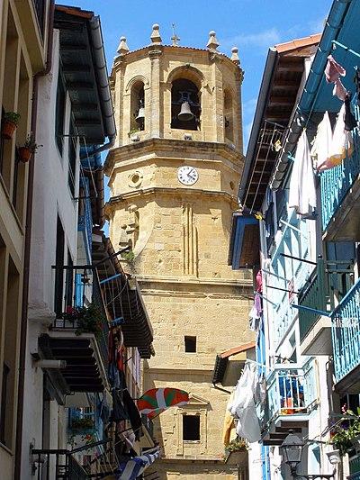 Church of San Salvador (Guetaria)