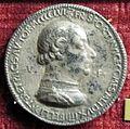 Gianfrancesco enzola, medaglia di francesco sforza, 1456, recto.JPG