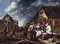 Gillis van Tilborgh - Family feast in front of a tavern.jpg