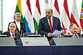 Giorgio Napolitano visite officielle Parlement européen de Strasbourg 4 février 2014 03.jpg