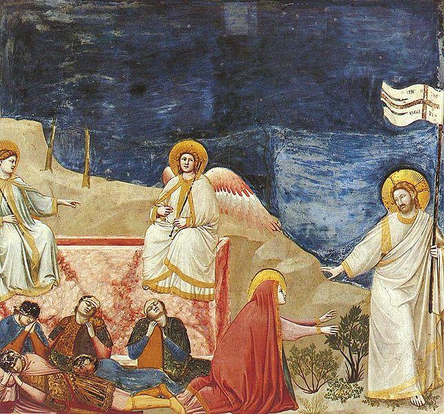 File:Giotto - Scrovegni - -37- - Resurrection (Noli me tangere).jpg