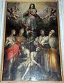 Giovan battista naldini, madonna, santi, adamo ed eva, 1585, 02.JPG