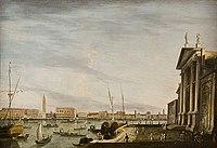 Giovanni Antonio Canal - Benetke, pogled s San Giorgio Maggiore.jpg
