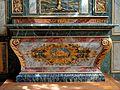 Gisors (27), collégiale St-Gervais-et-St-Protais, 2e collatéral sud du chœur, autel et retable dit des Mathurins 1.jpg