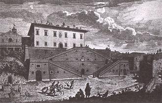 Giuseppe Zocchi - La Real Villa di Cerreto Guidi, 1744