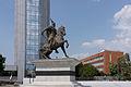 Gjergj Kastrioti (aka Skanderbeg) statue in Priština.jpg