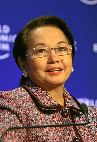 Philippine presidential election, 2010 - Gloria Macapagal Arroyo, the incumbent president, whose term expired in June 30, 2010