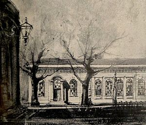 Houses of Parliament, Cape Town - The Masonic Lodge which served as the venue of the first Cape Parliament.