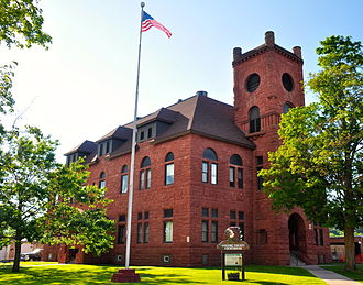 Gogebic County, Michigan - Image: Gogebic County Courthouse
