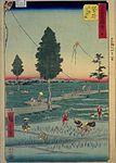 GojūSanTsugi-MeishoZu'e, Fukuroi by Hiroshige.jpg