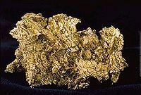 Pepita de ouro.