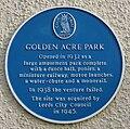 Golden Acre blue plaque.jpg