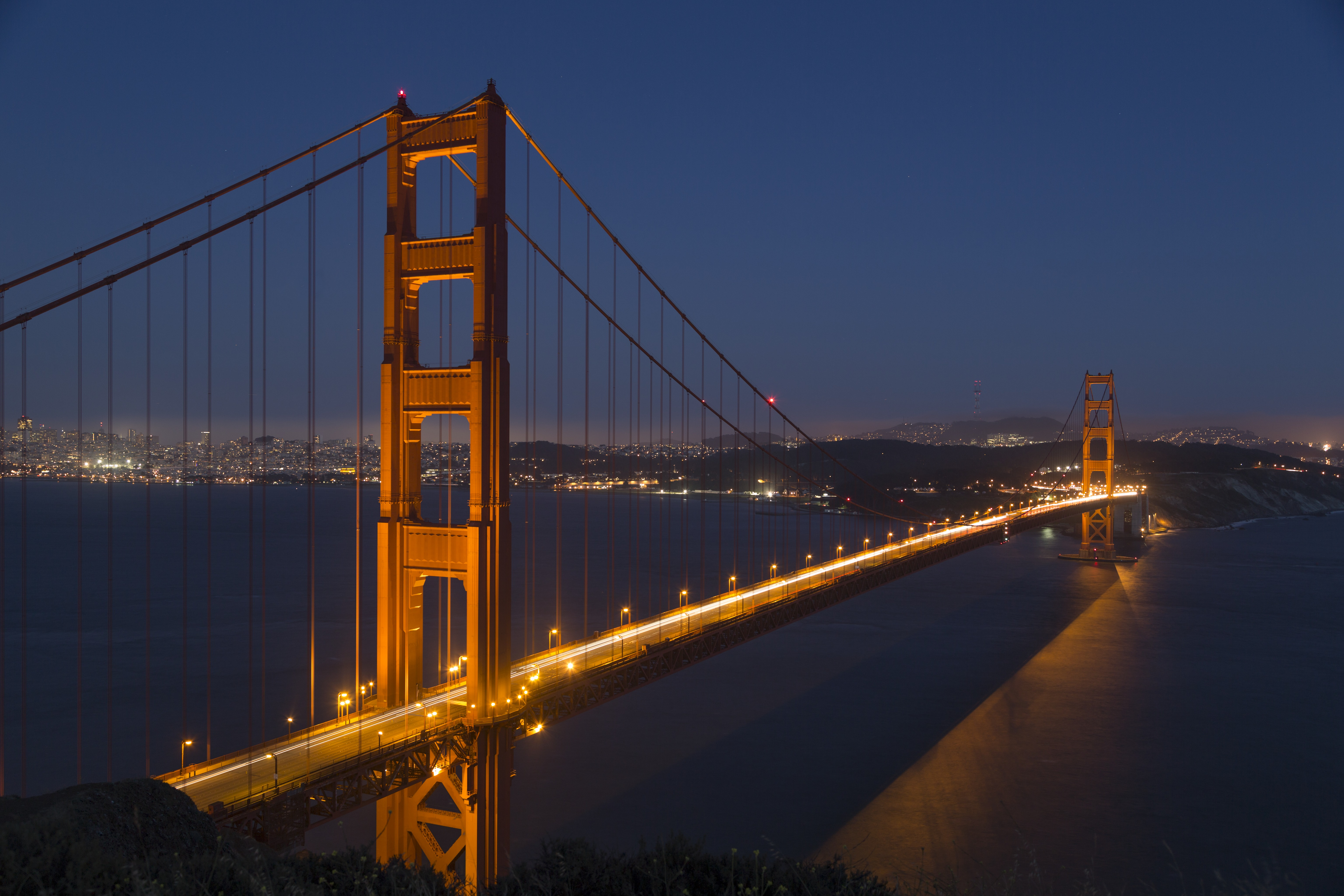 Golden Gate Bridge Painting Acrylic