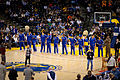 Golden State Warriors line up pregame vs Pistons 2.jpg