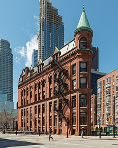 Gooderham Building, Toronto, East view 20170417 1.jpg