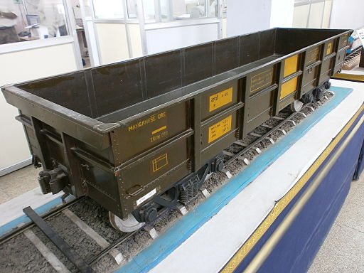 Goods-Train-Bogie-Model